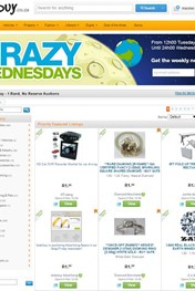 Find Specials | Bid or Buy Crazy Wednesday Auctions
