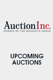 Upcomming auctions From AuctionInc